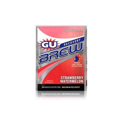 GU Brew Recovery - 12 Pack Strawberry Watermelon, One Size