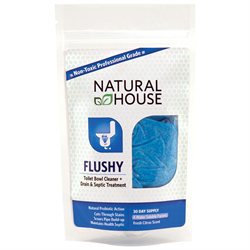 Prefense Natural House Flushy Toilet Scrubber and Line Maintenance