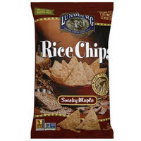 Lundberg Family Farms Smoky Maple Rice Chips, 6 oz, (Pack of 12)