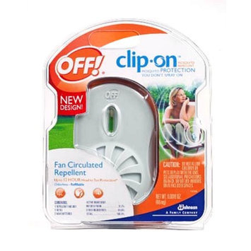 Off! Clip-On Fan Circulated Mosquito Repellent