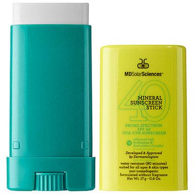 MDSolarSciences Mineral Sunscreen Stick SPF 40, .6 oz
