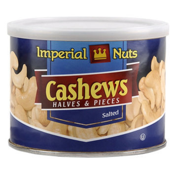 Imperial Nuts Cashew Halves and Pieces - Salted, 6 oz