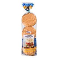 Flowers Baking Co. Cobblestone Bread Co. Sesame Twist Hamburger Rolls 18 oz