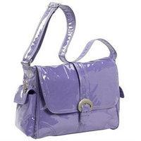 Kalencom Laminated Buckle Diaper Bag in Purple Corduroy