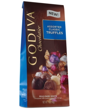 Godiva Chocolatier Individually Wrapped Assorted Truffles