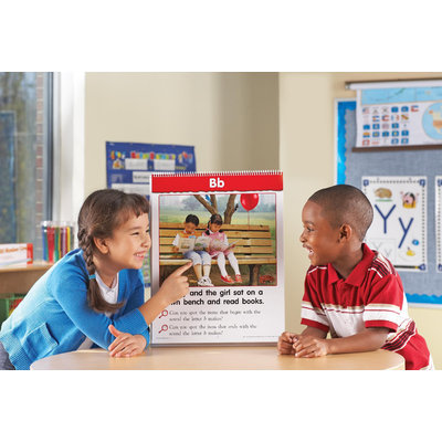 Learning Resources LER5393 Spot On Letters Flip Chart