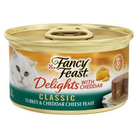 Fancy Feast® Delights With Cheddar Wet Cat Food Classic Turkey & Cheddar Cheese
