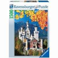 Ravensburger Neuschwanstein Castle: 1500 Pcs Ages 13+, 1 ea