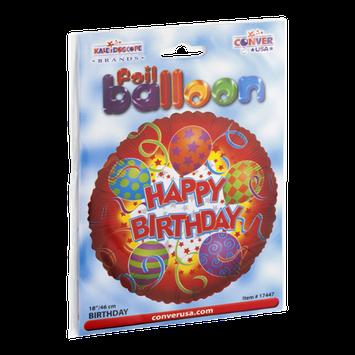 Kaleidoscope Foil Balloon 18