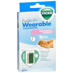Kaz Inc. Vicks Wearable Childrens Thermometer - 6-Pack