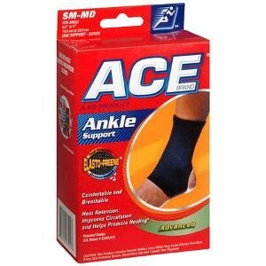 Ace Ankle Support, Elasto Preene, SM/M, Mild Support, 1 support - 3M COMPANY