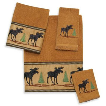 Avanti Forestry Fingertip Towel in Nutmeg