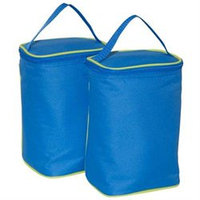 JL Childress Tall TwoCOOL 2-Bottle Insulated Tote