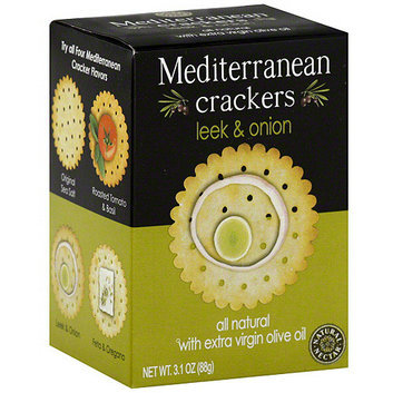 Natural Nectar Mediterranean Leek & Onion Crackers