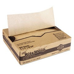 DXERW86U - Dixie Interfolded Lightweight Dry Waxed Sheets; 10 3/4 x 7 1/2; 500/Box; 12 Bx/Carton