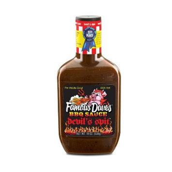 Famous Dave's Devil Spit Barbeque Sauce 19 oz