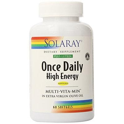 Once Daily Softgel Solaray 60 Softgel