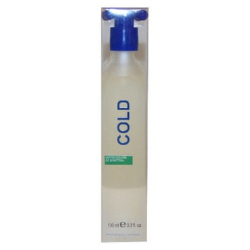 Men's Cold by United Colors of Benetton Eau de Toilette Spray - 3.3 oz