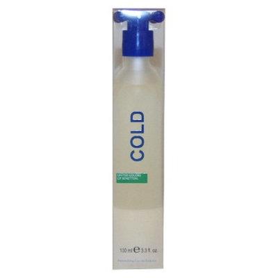 Men's Cold by United Colors of Benetton Eau de Toilette Spray - 3.3 oz