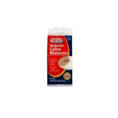 Preferred Plus Medicated Callus Removers, 6 Pads