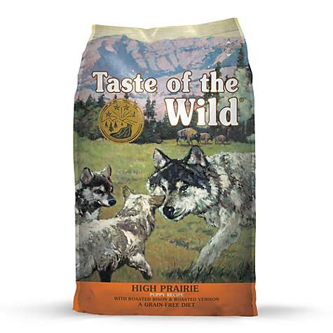Taste Of The Wild High Prairie Dry Puppy Bison Formula