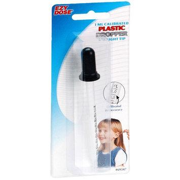 Ezy Dose Calibrated Plastic Medicine Dropper Straight Tip - 1 ml