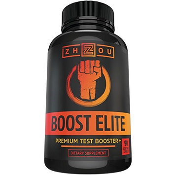 Zhou Nutrition BOOST ELITE Testosterone Booster - Increase Testosterone, Libido Energy - 11 Powerful Ingredients
