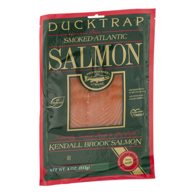 Ducktrap Smoked Atlantic Salmon