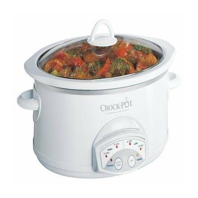 Crock-Pot Programmable Slow Cooker - White (5.5Qt)
