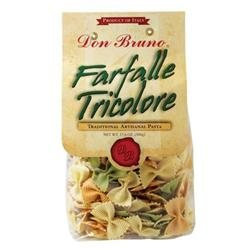 Roland Corporation Us American Roland Food 72720 Don Bruno Pasta-Farfalle Tricolore 17.6 Oz.