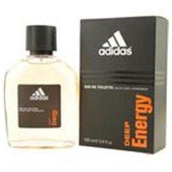 Adidas Deep Energy Edt Spray 3.4 Oz by Adidas