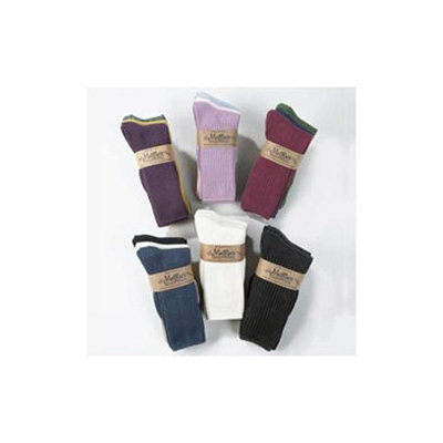 Frontier Maggie's Functional Organics Socks Black Crew Tri-Packs Size 10-13 220889