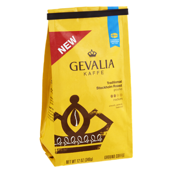 Gevalia Kaffe Traditional Stockholm Roast Medium Ground Coffee