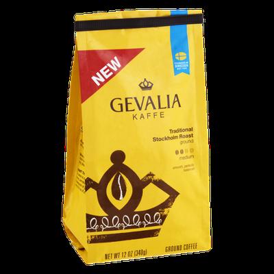 Gevalia Kaffe Traditional Stockholm Roast Medium Ground Coffee