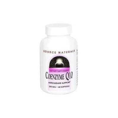 Source Naturals Coenzyme Q10 200mg, Softgels, 60 ea