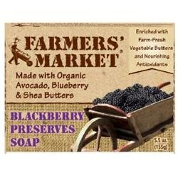 Farmer's Market: Organic Blackberry Preserves Soap, 5.5 oz