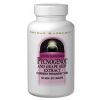 Source Naturals Pycnogenol 100mg, Tablets, 30 ea