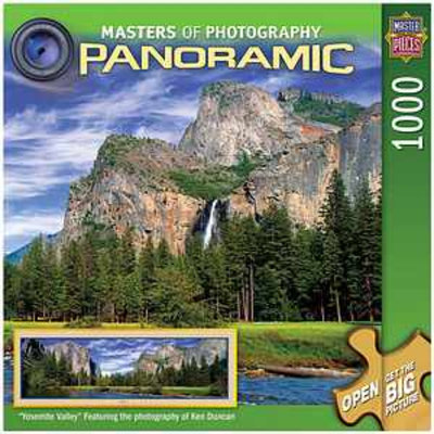 Masterpieces Puzzles Masters of Photography Yosemite Valley 1000 Pcs Ages 13+