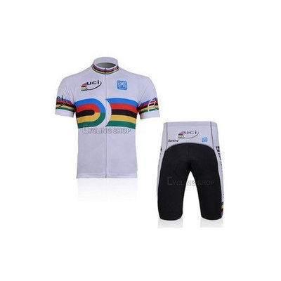 2012 Style UCI cycling jersey Set short-sleeved jersey tenacious life/Perspiration breathable