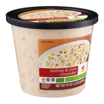 Ahold Shrimp & Corn Chowder