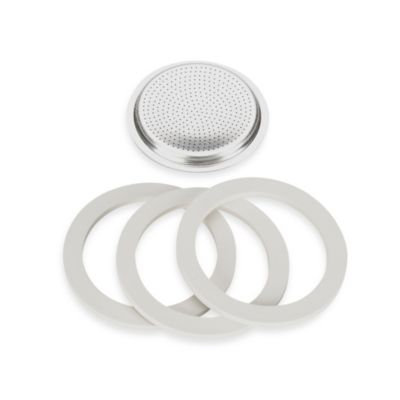 Bialetti Stainless Steel Replacement Gasket Filter for 4-Cup