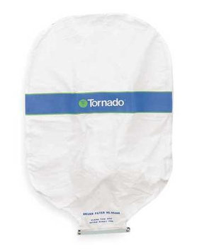 TORNADO 90488 Filter Bag, Use with Quad Head Air Vac