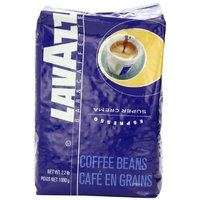 Lavazza Super Crema Espresso - Whole Bean Coffee, 2.2-Pound Bag (Packaging May Vary)