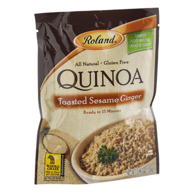 Roland Quinoa Toasted Sesame Ginger Gluten Free