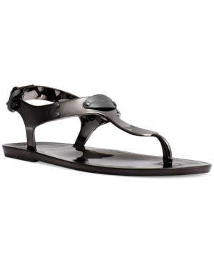 Michael Michael Kors Plate Jelly Thong Sandals Women's Shoes