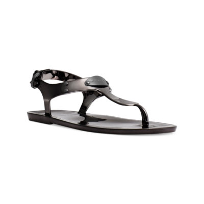 Michael Michael Kors Plate Jelly Thong Sandals Women's Shoes