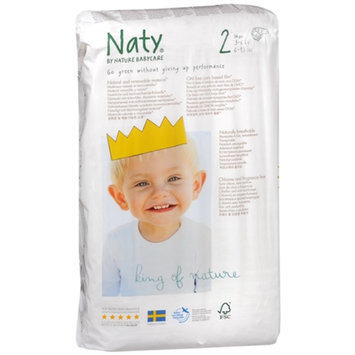 Naty by Nature babycare Diapers/Nappies 2, 6-13 lbs