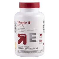 up & up up&up Vitamin E 400 iu Softgels - 200 Count