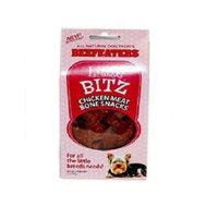 Beefeaters Little Bitz Chicken Meat Bone, 1-1/2-Inch, 5-Ounce