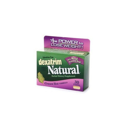 Dexatrim Ephedrine-Free Herbal Dietary Supplement & Diet Plan Caplets, Green Tea Formula, 30-Count Boxes (Pack of 3)